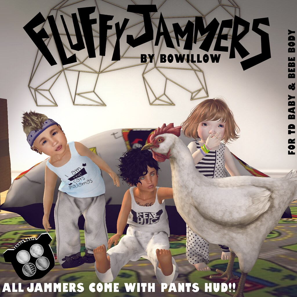 Fluffy Jammers Ad - SecondLifeHub.com