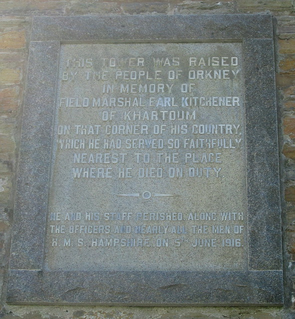Kitchener Memorial Inscription