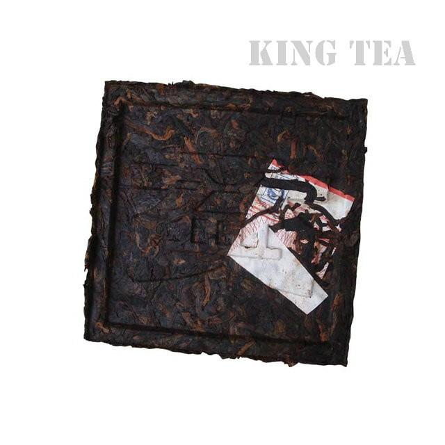 Free Shipping 2010 TAE TEA Dayi 99 Square Brick FangZhuan YunNan MengHai Organic Pu'er Pu'erh Puerh Ripe Cooked Tea Shou Cha