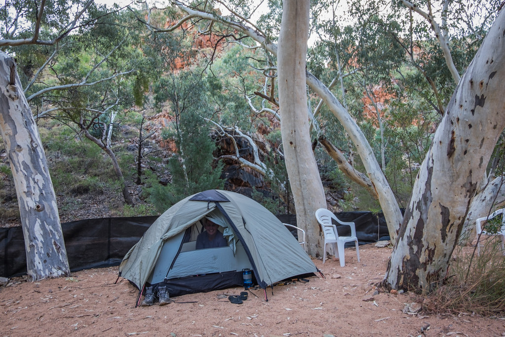 Standley Chasm camp - Beautiful photography taken while trekking the Larapinta Trail in Central Australia
