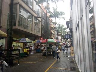 Colombia, Pereira, Pedestrian Street, Street Market