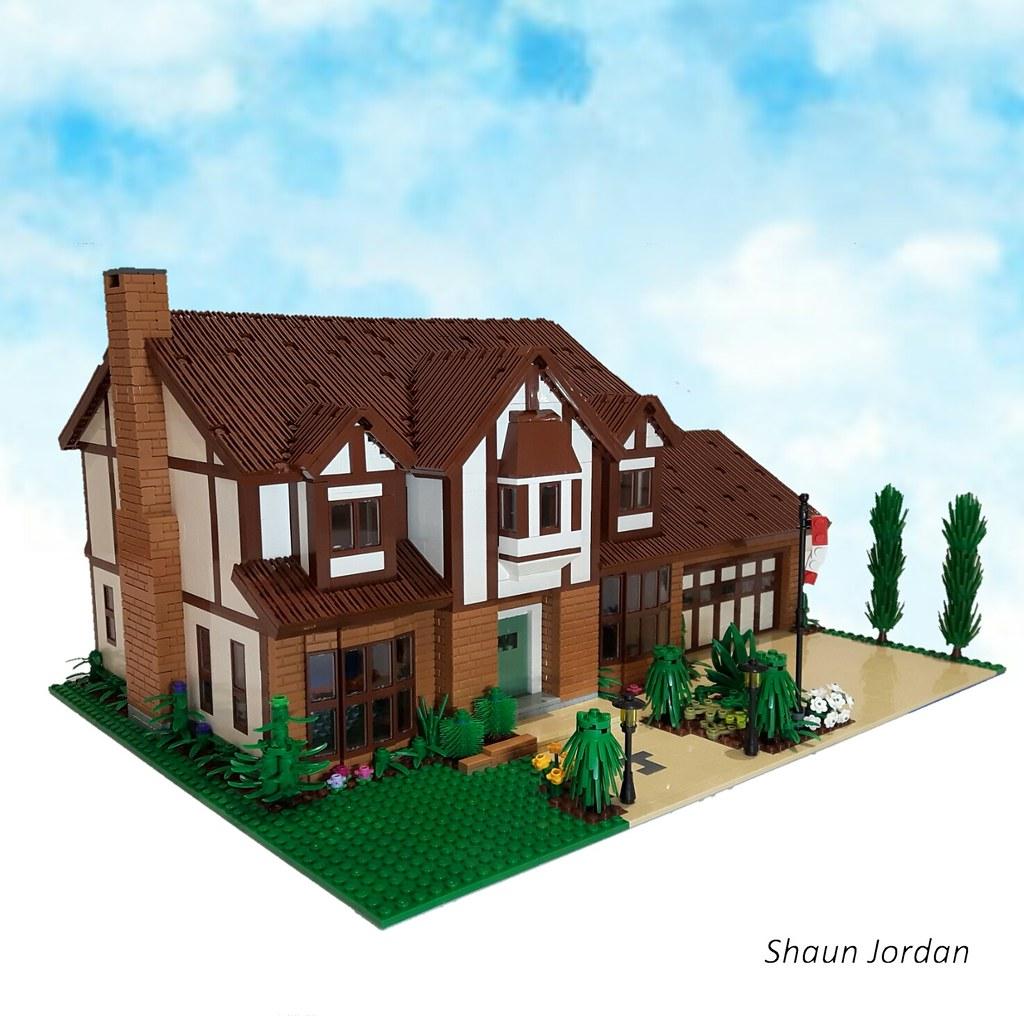 A Tudor style house