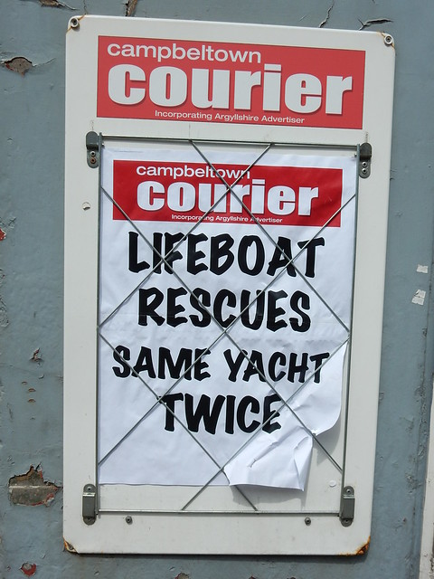 Lifeboat rescues same yacht twice