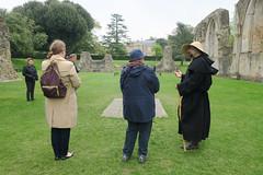 Touring Glastonbury Abbey