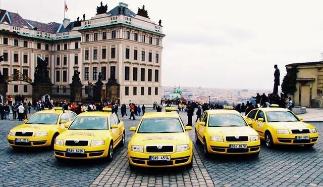 捷克/布拉格/–市區計程車與計程車叫車APP