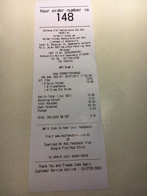 mcdonalds-spicy-korean-burger-Receipt