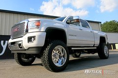 GMC Denali with 22in American Force Trax Wheels and Nitto Trail Grappler Tires
