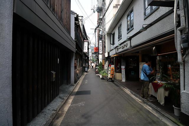 town, Shijo Kawaramachi, Kyoto