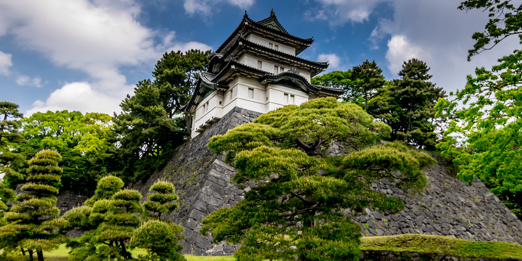 Watchtower, Imperial Palace, Tokyo