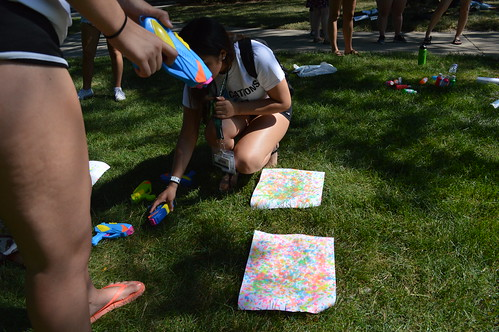 MIPA Squirt Gun Painting Activity
