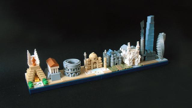 History of Architecture - LEGO Architecture Skyline evolution