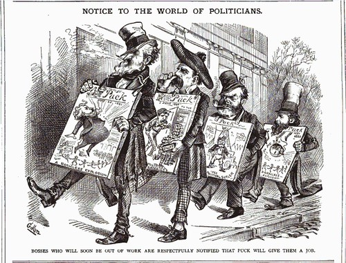 notice to the world of politicians (1882)