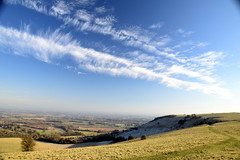 Blackcap and Stanmer Down From Ditchling Beacon