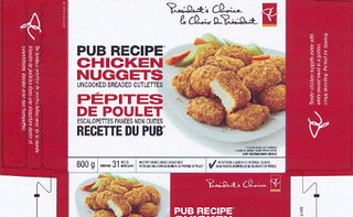 recalled-Presidents-Choice-chicken-nuggets-Loblaw