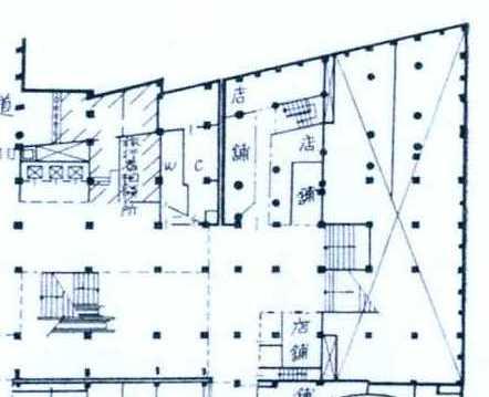 西武鉄道新宿駅 ルミネ(マイシティ)乗り入れ計画図面 (4)