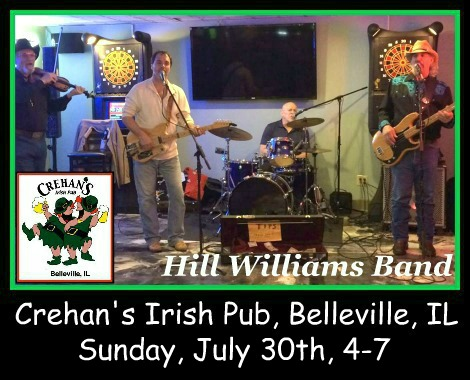Hill Williams Band 7-30-17