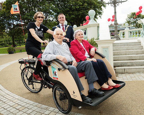 Cycling Without Age comes to Ireland!  - The launch of a totally new voluntary initiative to take residents of nursing and care homes out for a slow spin on a trishaw bicycle