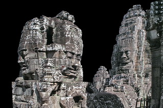 Cambodia - Bayon Temple - Faces Of Lokesvara - 26d