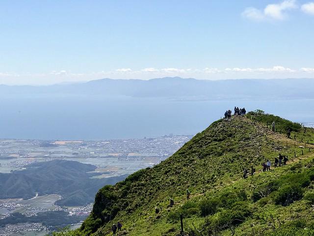 伊吹山 琵琶湖展望台