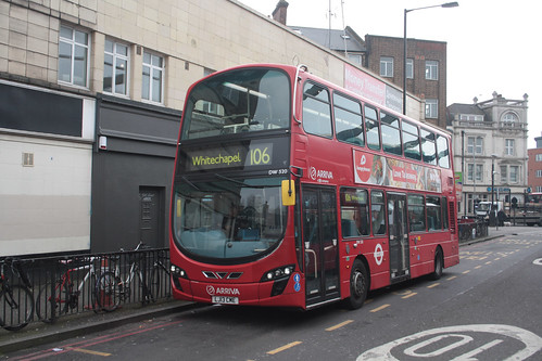 Arriva London DW520 LJ13CME Finsbury Park