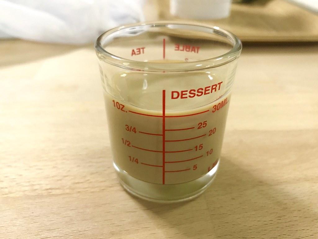 Baileys in my Measure glass