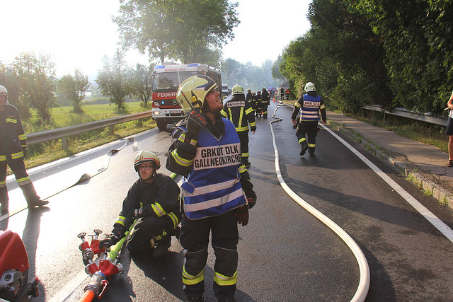 Wohnhausbrand Steyregg