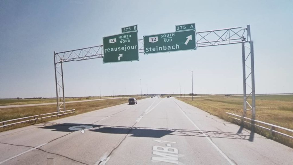 Beausejour and Steinbach that way. #ridingthroughwalls #xcanadabike #googlestreetview #manitoba