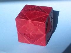 Sonobe Cube Lamp