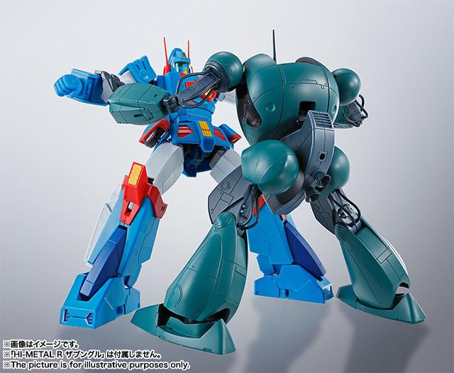 HI-METAL R《戰鬥裝甲Xabungle》政府型(廷布機)弒親仇敵登場!ガバメントタイプ(ティンプ機)