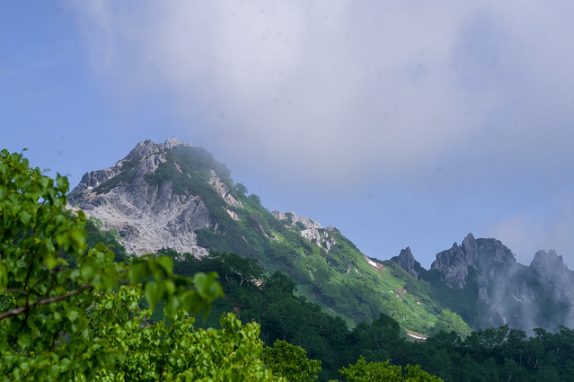 燕岳と北燕岳