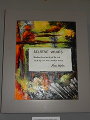Relative Values, Frieda Hughes, Alternative Values Exhibition, Chichester Cathedral (2)