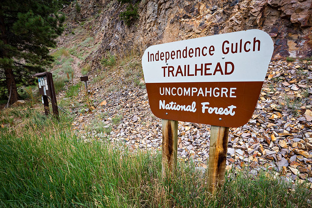 Independence Gulch Trailhead