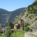 Sant Joan de Caselles Church and view of Canillo, Andorra by Paul McClure DC