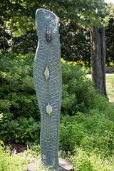 Albert Wachi, Split Seed Pod, Dallas Arboretum