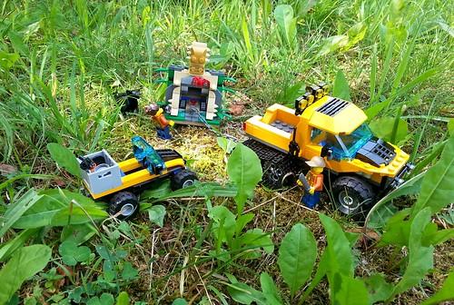 LEGO City 60159 Jungle Halftrack Mission 62