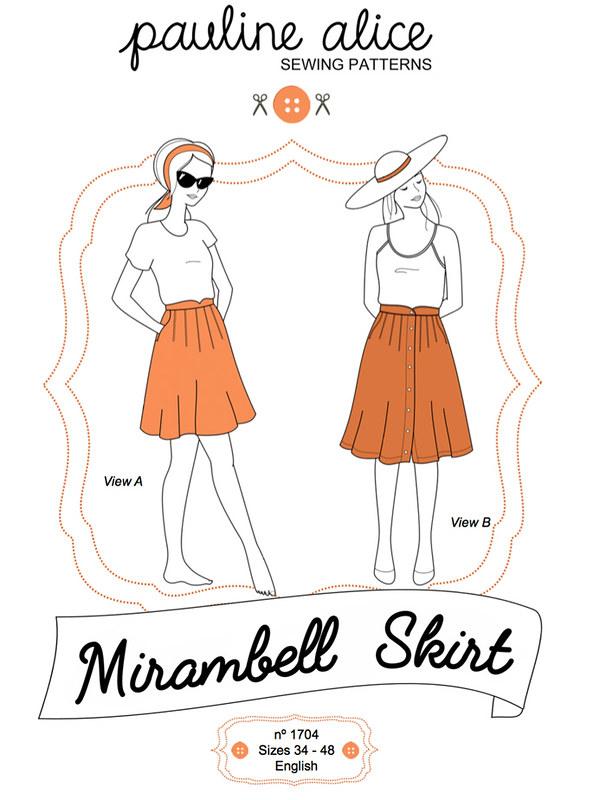 Mirambel skirt pattern envelope