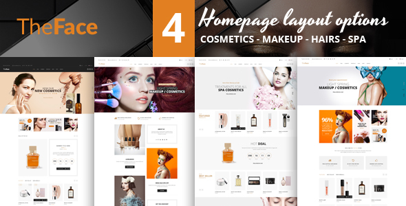 Theface v1.0 – Magento Theme for Beauty & Cosmetics Store