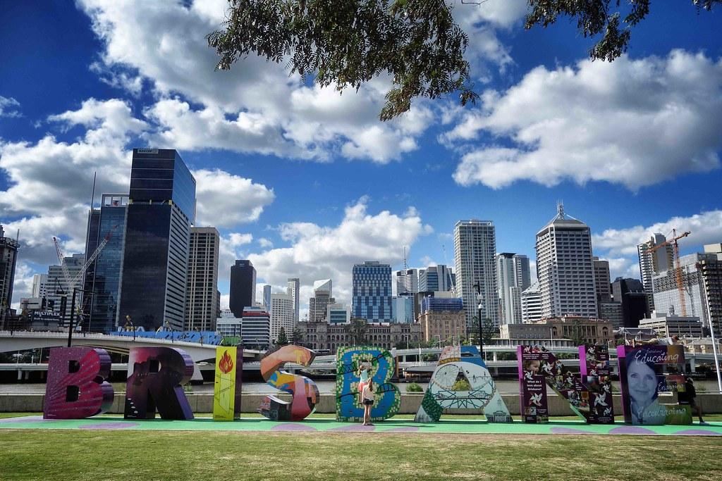 Brisbane - City Letters