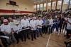 Inaugura MVC auditorio de basquetbol y campo de futbol en Comitán