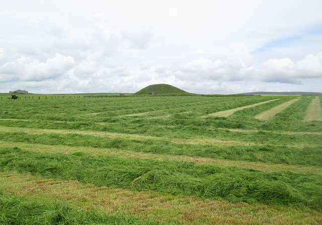 Maeshowe, Orkney, From Access Path