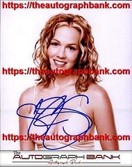 Jennie Garth authentic signed memorabilia