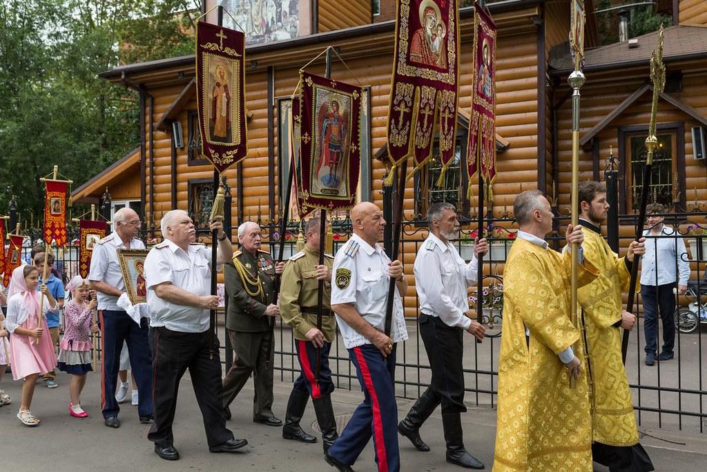 28 июля в Князь-Владимирском храме торжественно отпраздновали шестой в истории прихода престольный праздник.