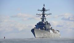 File photo of the future USS Rafael Peralta (DDG 115). (U.S. Navy)