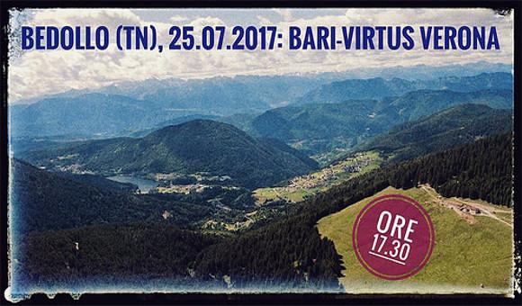 Amichevoli: Entella-Virtus Verona annullata, domani sfida al Bari