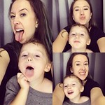 Photo booth fun with my little dude.  by bartlewife