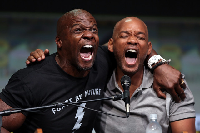 Terry Crews & Will Smith