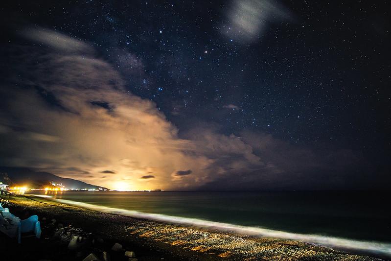 海豚灣銀河|那邊墾丁