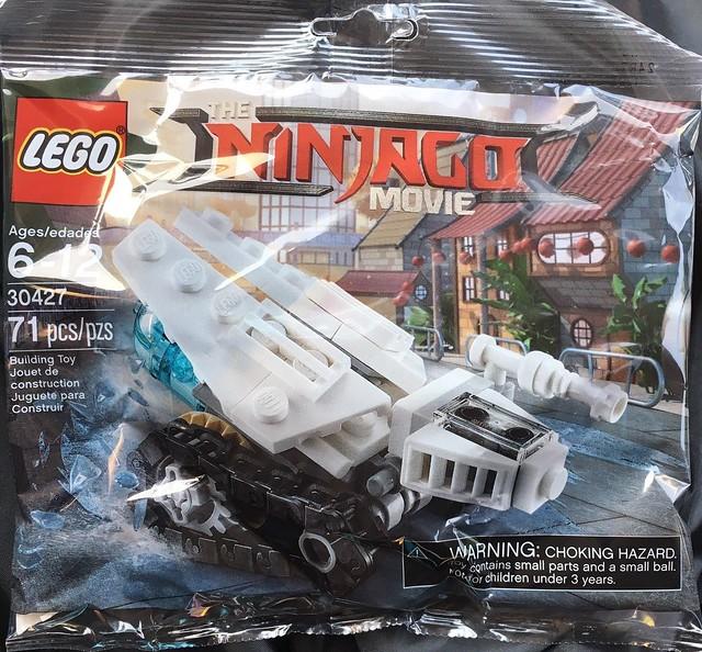 The LEGO Ninjago Movie 30427 Ice Tank Polybag