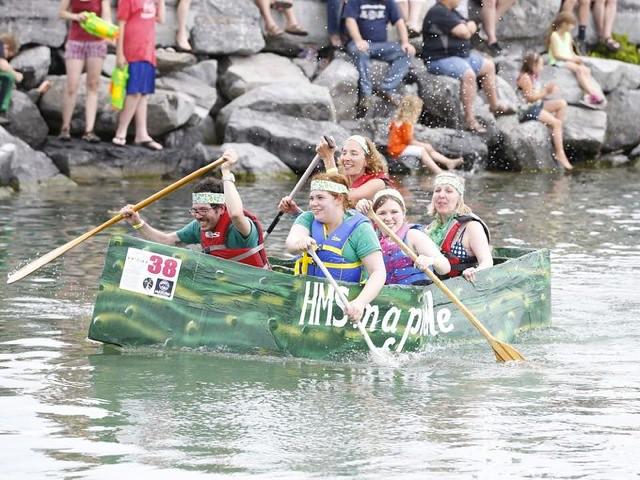 2015 Cardboard Boat Regatta