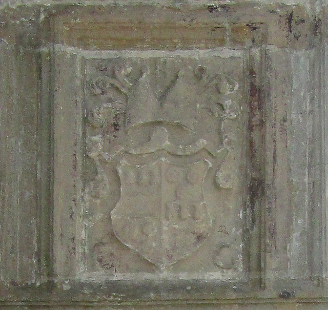 Skaill House Cartouche Above Entrance